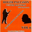 BACKING TRACK CD : ROGER PAULSSON CUSTOM BACKTRAX VOL.6