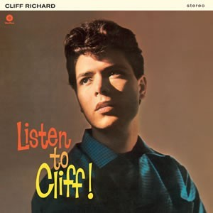 CLIFF RICHARD - LISTEN TO CLIFF - 180gm LP - TWO BONUS TRACKS