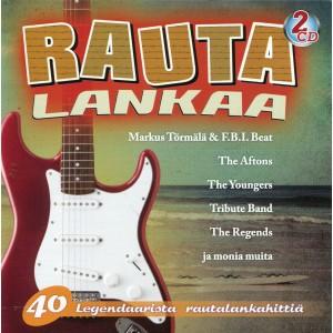 RAUTALANKAA - 40 Legendaarista Rautalankahittia - VARIOUS ARTISTS - IMPORT - 2CD