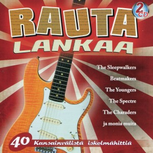 RAUTALANKAA - 40 Kansainvalista Iskelmahittia - VARIOUS ATISTS - IMPORT- 2CD  2-CD