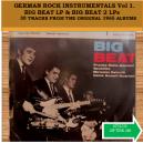 GERMAN ROCK INSTRUMENTALS VOL 1 - BIG BEAT ALBUM & BIG BEAT 2 ALBUM - CD - STYLUS
