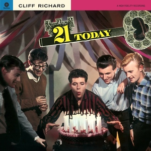 CLIFF RICHARD - 21 TODAY - VINYL - 180GRAM