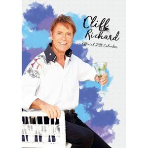 CLIFF RICHARD - OFFICIAL A3 CALENDAR - 2018