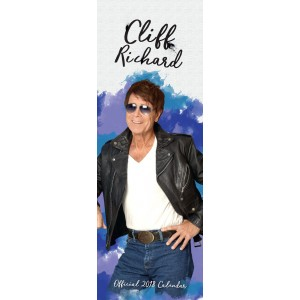 CLIFF RICHARD - OFFICIAL SLIMLINE CALENDAR - 2018