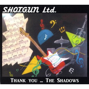 SHOTGUN LTD - THANK YOU....THE SHADOWS - CD - IMPORT - FRENCH