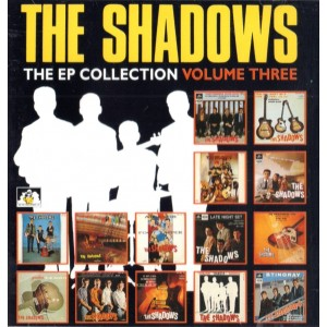 THE SHADOWS - THE EP COLLECTION VOL 3 - CD - SEE FOR MILES