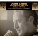 JOHN BARRY - TWO CLASSIC ALBUM PLUS SINGLES 1957 - 1962 - 4CD