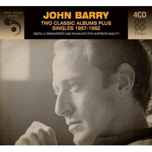 JOHN BARRY - TWO CLASSIC ALBUM PLUS SINGLES 1957 - 1962 - 4CD