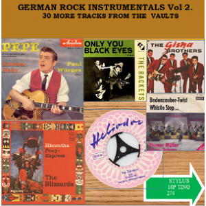 GERMAN ROCK INSTRUMENTALS VOLUME 2 - STYLUS RECORDS - VOL 2