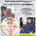 RADIO CAROLINE SHOW 3 -EXCITING GUITAR PERFORMANCES - STYLUS