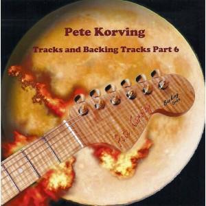 PETE KORVING- VOLUME 6 - BACKING TRACK - CD - IMPORT