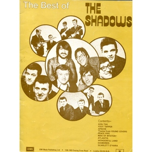THE SHADOWS 'THE BEST OF.....MUSIC FOLIO