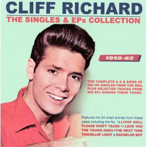 CLIFF RICHARD - THE SINGLES & EPS COLLECTION 58 - 62 2CD