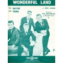 """""""WONDERFUL LAND"""" SHEET MUSIC"""