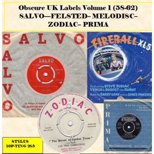 OBSCURE UK LABELS 58 - 62 - STYLUS - CD