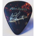 JOHN ROSTILL - GUITAR PLECTRUM - PIN BADGE