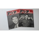 POP WEEKLY MAGAZINES Issues 18 & 20 (1963/4) + 2 PHOTOS