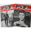 POP WEEKLY MAGAZINES Issues 22 & 32 (1963)