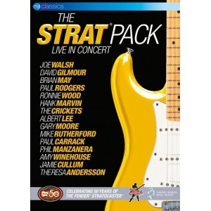 VARIOUS INCLUDING HANK AND BEN MARVIN - THE STRAT PACK IN CONCERT - DVD