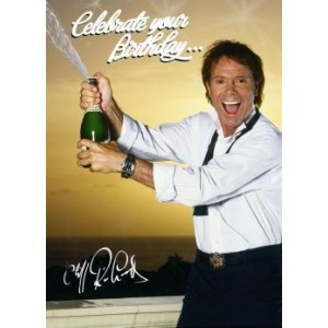 Cliff Richard Birthday Cake