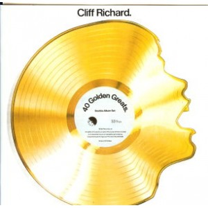 CLIFF RICHARD - 40 GOLDEN GREATS - 2CD