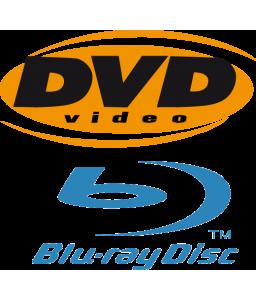 DVD, Blu-Ray, & VHS