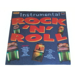 "VARIOUS ARTISTS – ""INSTRUMENTAL ROCK 'N' ROLL"" (EMI – UK) 1986 Stereo"