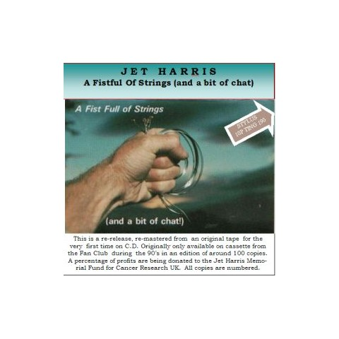"JET HARRIS   ""A FISTFUL OF STRINGS (and a bit of chat)"" CD"