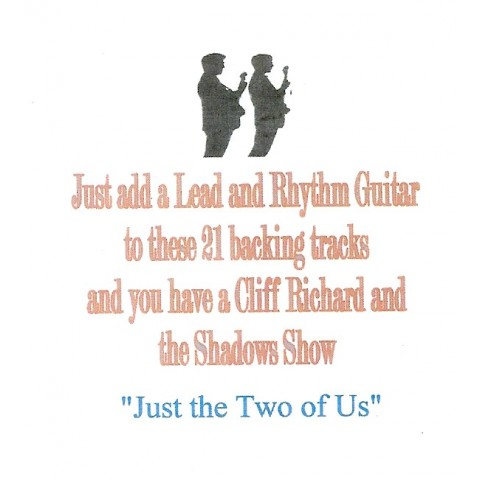 Adrian Jay - JUST THE TWO OF US  Backing track CD for Rhythm & Lead Guitar