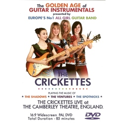 THE CRICKETTES LIVE AT THE CAMBERLEY THEATRE""