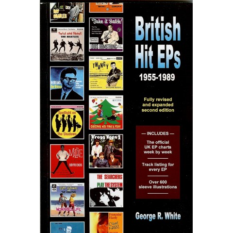 """BRITISH HIT EPS (1955-1989)"" Book  (2nd Edition 2014)"