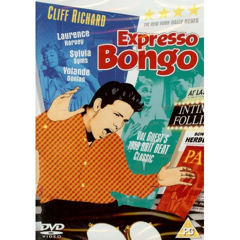"CLIFF RICHARD ""EXPRESSO BONGO""  DVD"
