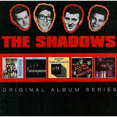 THE SHADOWS - The Shadows /Out of/Sound of/Dance On With/Shadow Music - 5 Original Album CD Set