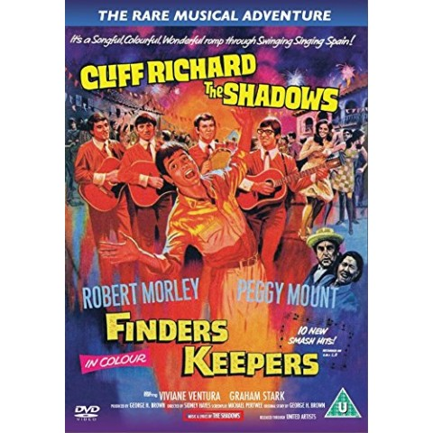 FINDERS KEEPERS - MOVIE - DVD
