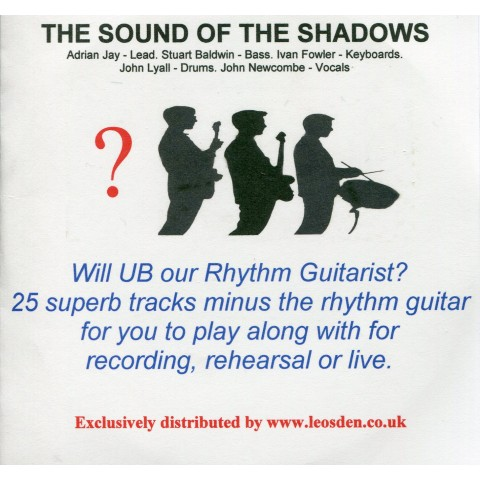 "Adrian Jay  - ""WILL UB OUR RHYTHM GUITARIST?"" (Issue 2) - THE SOUND OF THE SHADOWS  - Backing Track CD"