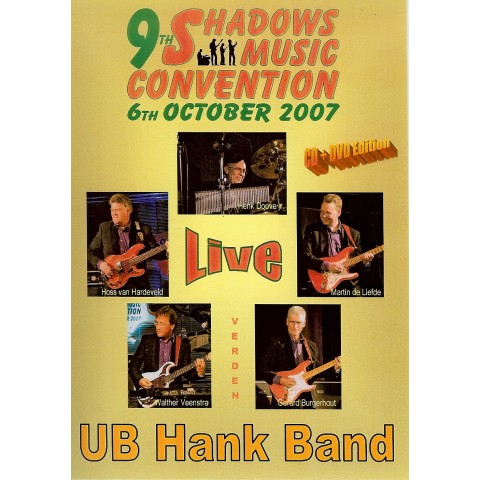 U B HANK BAND – LIVE IN 2007 - CD and DVD