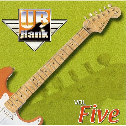 UB HANK Vol 5 - BACKING TRACK - CD