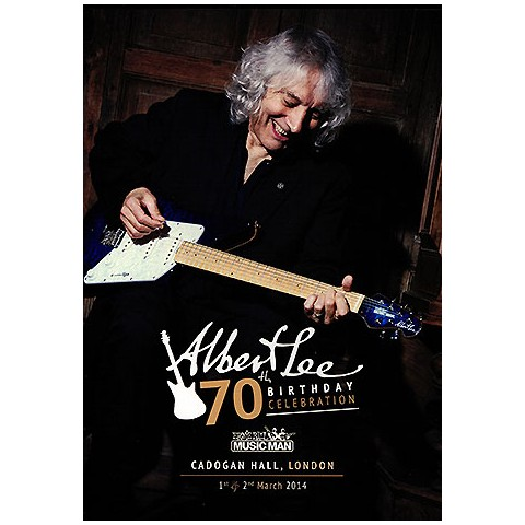 Albert Lee'  '70th Birthday'  Live From Cadogan Hall [PAL Format]