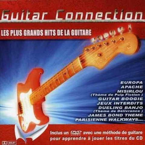 JEAN PIERRE DANEL - GUITAR CONNECTION 1 - CD and DVD