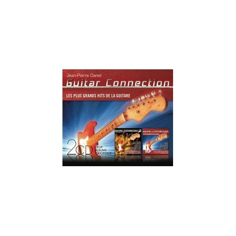 JEAN PIERRE DANEL 'GUITAR CONNECTION VOL 1 AND 2' FEAT HANK MARVIN CD