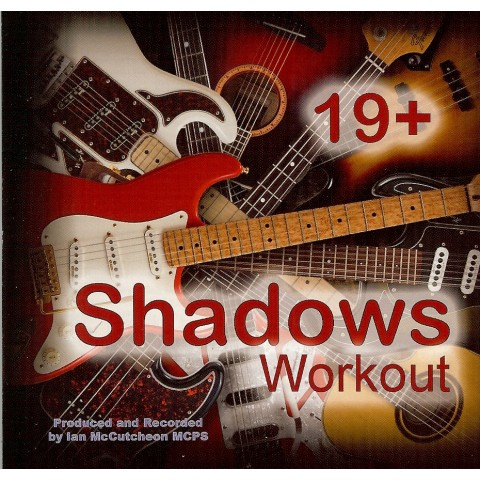 IAN MCCUTCHEON - SHADOWS WORKOUT 19 + - BACKING TRACK - CD