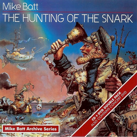 Mike Batt – Hunting Of The Snark CD + DVD - Feat Cliff