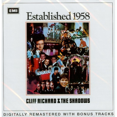 CLIFF RICHARD & THE SHADOWS - ESTABLISHED 1958 + BONUS TRACKS - CD