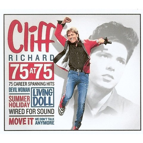 CLIFF RICHARD - 75 AT 75 - 3 CD SET