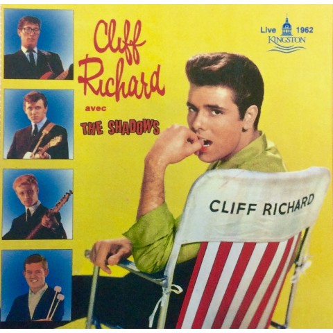 "CLIFF RICHARD & THE SHADOWS - VINYL - LIVE AT KINGSTON  1962 - 10""  VINYL - IMPORT"