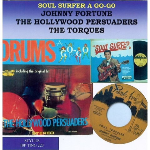 SOUL SURFER A GO GO - JOHNNY FORTUNE - HOLLYWOOD PERSUADERS - STYLUS - CD