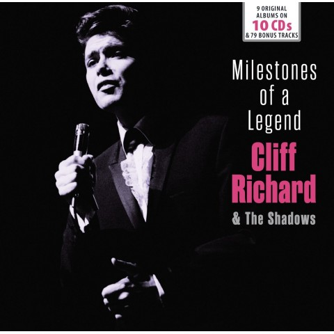 CLIFF & THE SHADOWS - MILESTONES OF A LEGEND -  10 CD SET