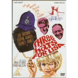 Three Hats For Lisa - Feat: Joe Brown, Una Stubbs - Musical Film  DVD