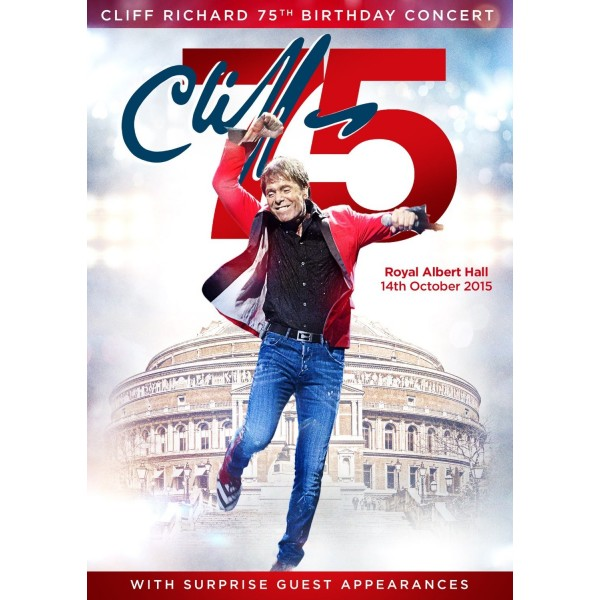 Cliff Richard - 75th Birthday Tour - DVD - Live At The Albert Hall