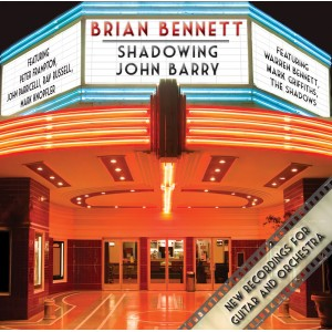 BRIAN BENNETT - SHADOWING JOHN BARRY - CD